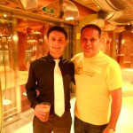 Me and Mike Filsaime on a Caribbean internet marketers cruise 2012